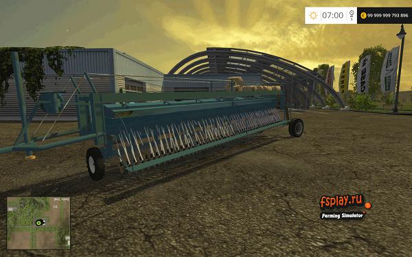 TSL 8 Mseeder для Farming Simulator 2015