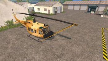 Вертолёт (Bell UH1D AGRAR) для Farming Simulator 2015