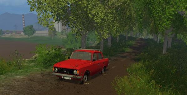 Москвич-412 для Farming Simulator 2015
