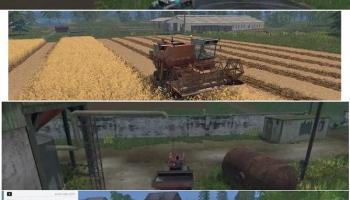 Простоквашино v1.0 для Farming Simulator 2015