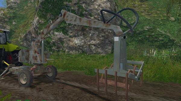 Cyklop T214 для Farming Simulator 2015