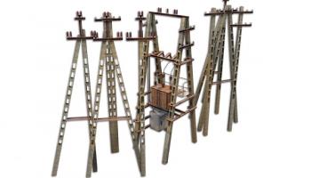 Электрические столбы пак v1.0.2 для Farming Simulator 2015