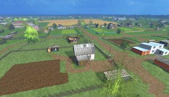 Бухалово v3.0 для Farming Simulator 2015