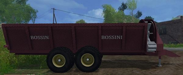 Bossini Spandi Letame для Farming Simulator 2015