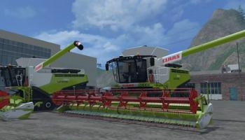 Claas Lexion 780 для Farming Simulator 2015