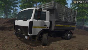 МАЗ 5551 v1.1 для Farming Simulator 2015