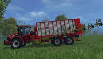 «Case Jumbo» для Farming Simulator 2015