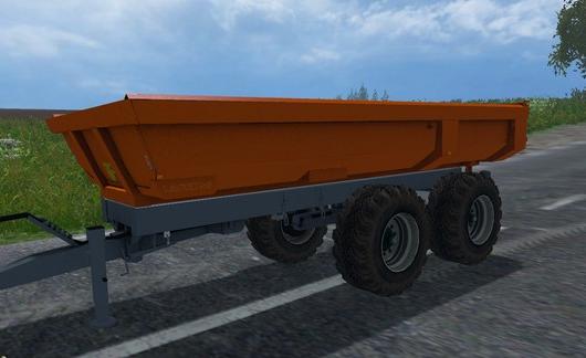 Laumetris Construction Trailer PTL для Farming Simulator 2015