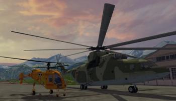 Вертолет (Helicopters v1.0) для Farming Simulator 2015