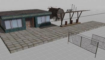 АЗС v1.0 для Farming Simulator 2015