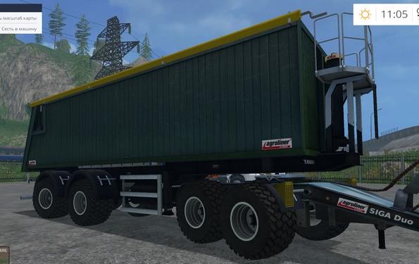Kroeger Agroliner SMK 34 для Farming Simulator 2015