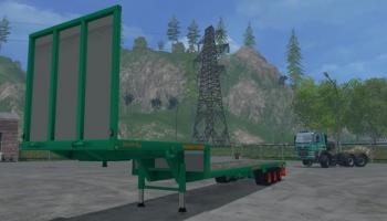 Aguas Tenias Platform для Farming Simulator 2015