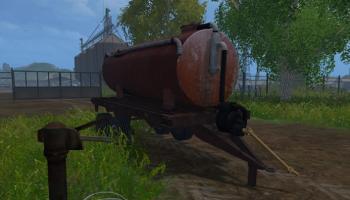 Бочка v 1.0 для Farming Simulator 2015
