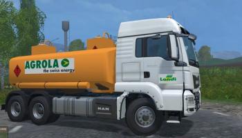 MAN для Farming Simulator 2015