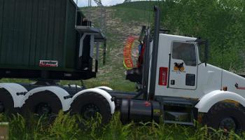 Kenworth T800 для Farming Simulator 2015