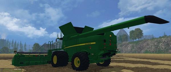 John Deere 640 Turbo Edition для Farming Simulator 2015