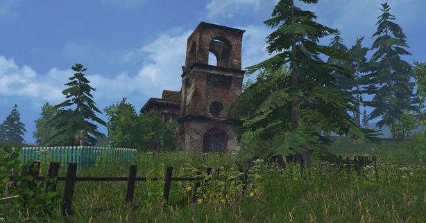 Простоквашино v 1.0 для Farming Simulator 2015