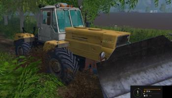 Т-150к Бульдозер для Farming Simulator 2015