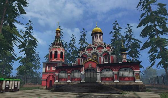 Высокий Берег v 1.0 Beta для Farming Simulator 2015