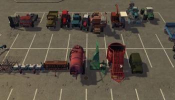 Russian Technik Pack V1.0 для Farming Simulator 2015