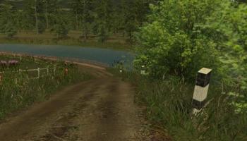 Slovakia Map v1.1 Gulle для Farming Simulator 2015
