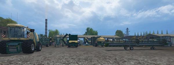 KRONE, NH, HORCH MIX PACK V2 для Farming Simulator 2015