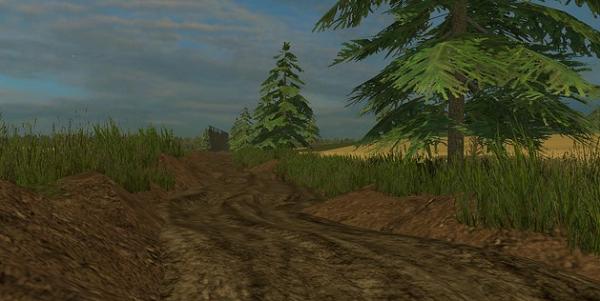 Muddy Map v 2.3 для Farming Simulator 2015