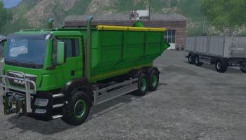 MAN TGS 6X4 для Farming Simulator 2015