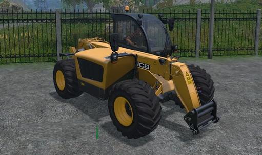 JCB 531-70 v1.1 для Farming Simulator 2015