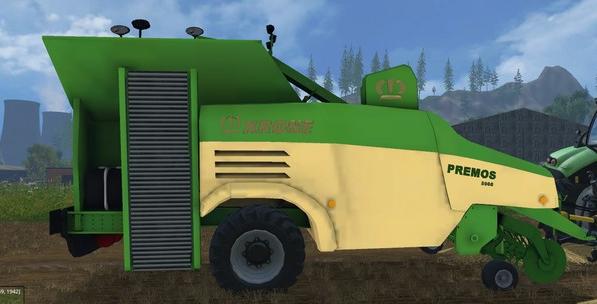 KRONE PREMOS 5000 для Farming Simulator 2015