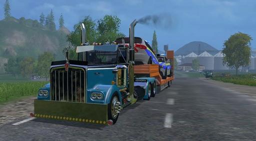 KENWORTH W900 v 1 для Farming Simulator 2015