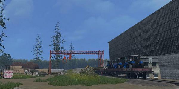 Курай Ех для Farming Simulator 2015