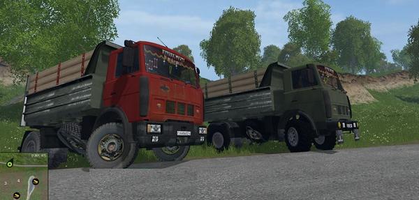 МАЗ-5551 для Farming Simulator 2015