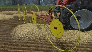 Zagrabiarka 4 Gwiazdowa v 1.0 для Farming Simulator 2015