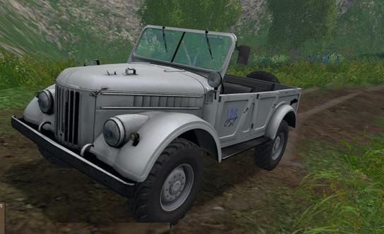 ГАЗ-69 v 1.0 для Farming Simulator 2015