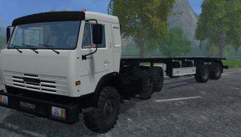 Камаз и прицеп для Farming Simulator 2015