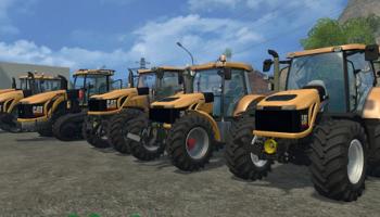 CAT CHALLENGER и CAT LEXION для Farming Simulator 2015