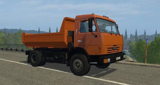КамАЗ 43255 для Farming Simulator 2015