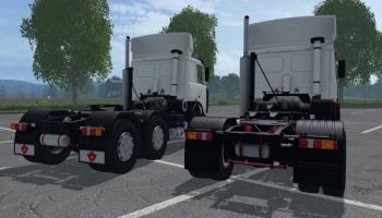 МАЗ 5432 и МАЗ 6422 для Farming Simulator 2015