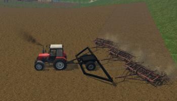 Культиватор КПС-4 и сцепка для Farming Simulator 2015