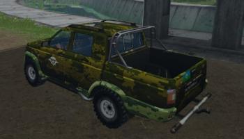UAZ RELIZE VDV для Farming Simulator 2015