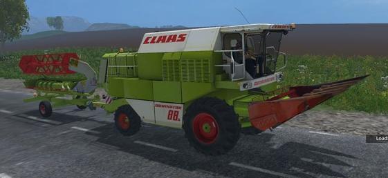 CLAAS DOMINATOR 88S v 1.1 для Farming Simulator 2015