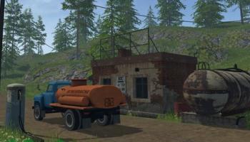 ГАЗ-53 и АЗС для Farming Simulator 2015