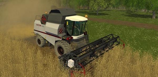 VECTOR 410 v2.0 для Farming Simulator 2015