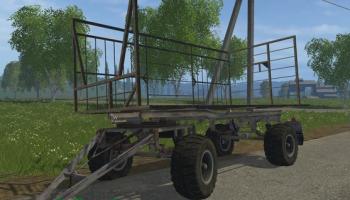 HW 80 BALE FARMING для Farming Simulator 2015