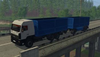 MAZ & SZAP 8305 для Farming Simulator 2015