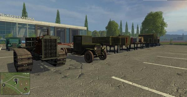 Сталинский пак для Farming Simulator 2015