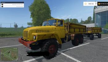 Урал для Farming Simulator 2015