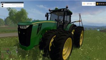JOHN DEERE 8400R для Farming Simulator 2015