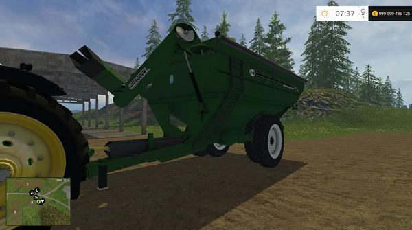 J&M 1412 GRAINCART для Farming Simulator 2015